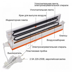 Вакуумный упаковщик Tinton Life (вакууматор)