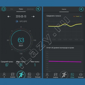Умный фитнес браслет No.1 F4 Smartband (пульс, кислород, давление, шагомер)