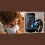 Умные фитнес часы No.1 DT28 Smartwatch (пульс, кислород, давление, ЭКГ, шагомер)