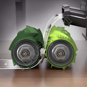 Комплект валиков-скребков для iRobot Roomba e5, e6, i7, i7+ (2 шт)