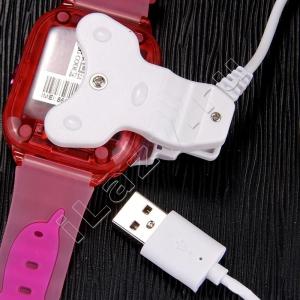 Умные детские часы-телефон-трекер с GPS и камерой K21 (sim, камера, звонки, сенсорный экран, SOS)