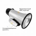 Мегафон/рупор/громкоговоритель с функцией записи (мощность 20 Вт, сирена, запись и воспроизведение)