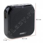 Портативный усилитель голоса аккумуляторный с функцией записи (USB зарядка, чтение USB flash, microSD, mp3) Rolton