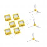 Набор сменных элементов для Roomba 700 серии (3 боковые щетки, 6 фильтров)