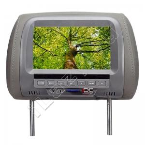 Подголовник с монитором MP5 (7 дюймов, USB флешки, SD карты, 800*480)