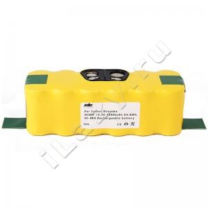 Аккумуляторная батарея Ni-MH, 4500mAh, 14.4V для Irobot Roomba 500, 600, 700, 800, 900 серий (80501, 11702, GD-ROOMBA-500, VAC-500NMH-33, VCB-002-IRB.R500-25M)